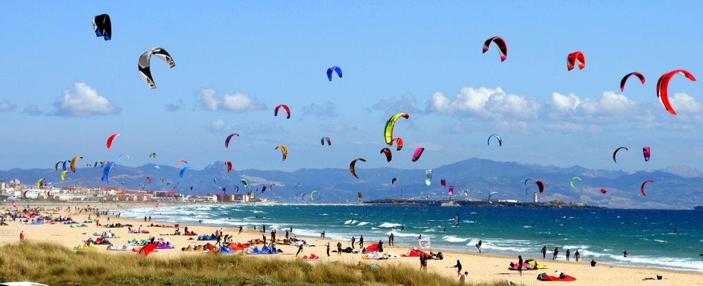 Kite surfing kajty na Helu