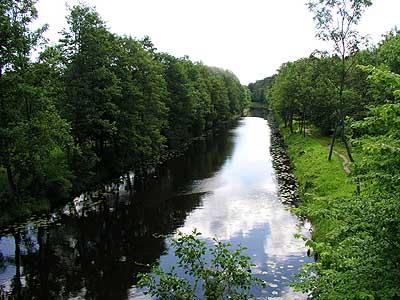 kanał mazurski- zamknięty dla żeglugi