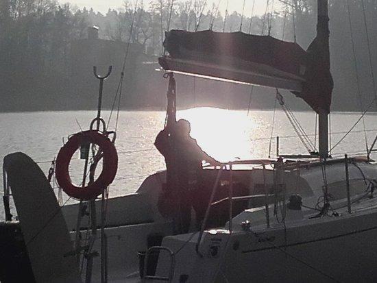 Żeglowanie z dziećmi Jezioro Nidzkie